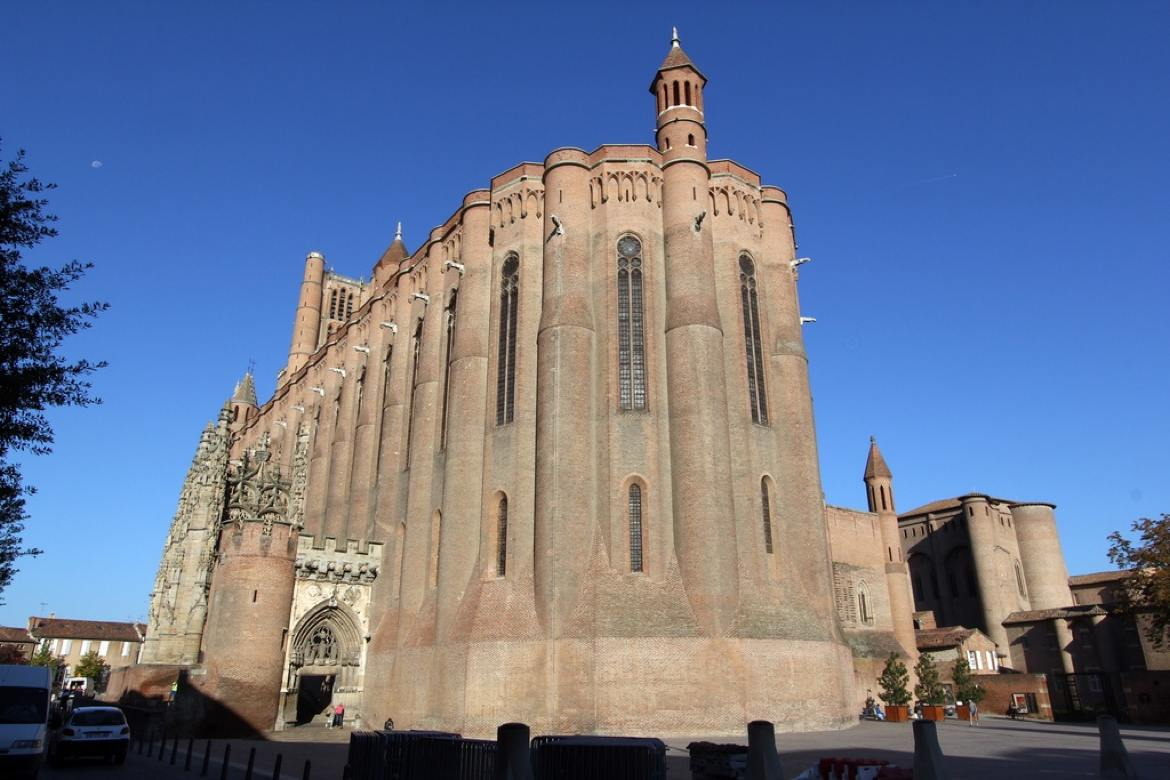 Albi Cathedral - one of the wonders of the world