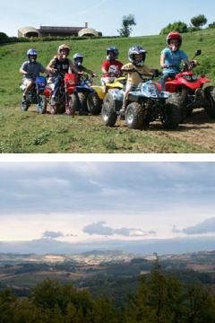 Quad biking, Puylaurens